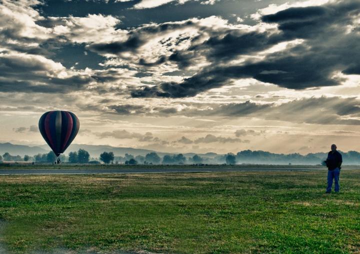 Osservando il decollo di bondell