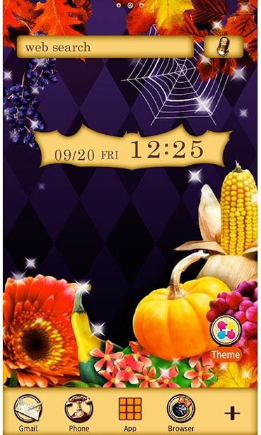 Halloween Harvest Wallpaper Android App Screenshot