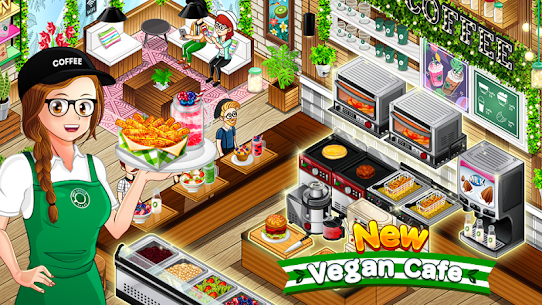 Cafe Panic: Cooking Restaurant 1