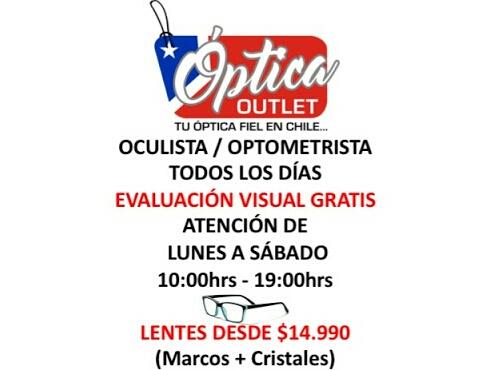 8e94d8a89d Optica Consulta Oftalmologica Lentes Entrega Inmediata San Diego Santiago  Centro OPTICA OUTLET