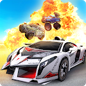 Overload: PvP Realtime Cars Battle Royale icon