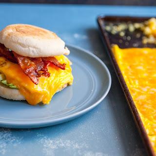 Sheet Pan Breakfast Sandwiches.