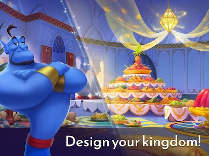 Disney Princess Majestic Quest: Match 3 & Decorate Screenshot
