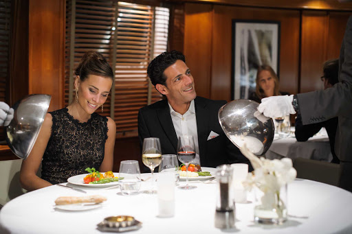 Ponant-Le-Ponant-dining.jpg - Explore the flavors of the globe on the 64-passenger luxury yacht Le Ponant.