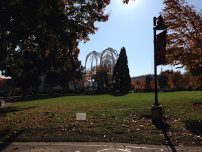 Photo: Seattle Center looking at the Pacific Science Center