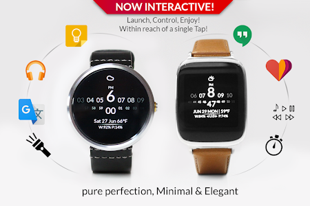 Watch Face - Minimal & Elegant v3.6.3.6