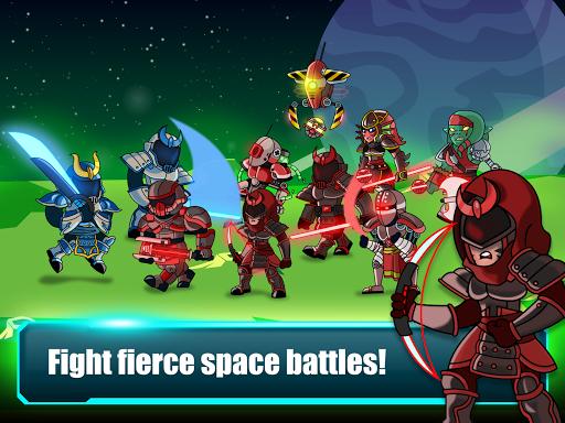 Space Warriors - Sci-fi Strategy Combat Game 1.0 screenshots 7