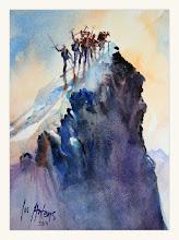 Photo: Die Erstbesteigung des Matterhorns 1865
