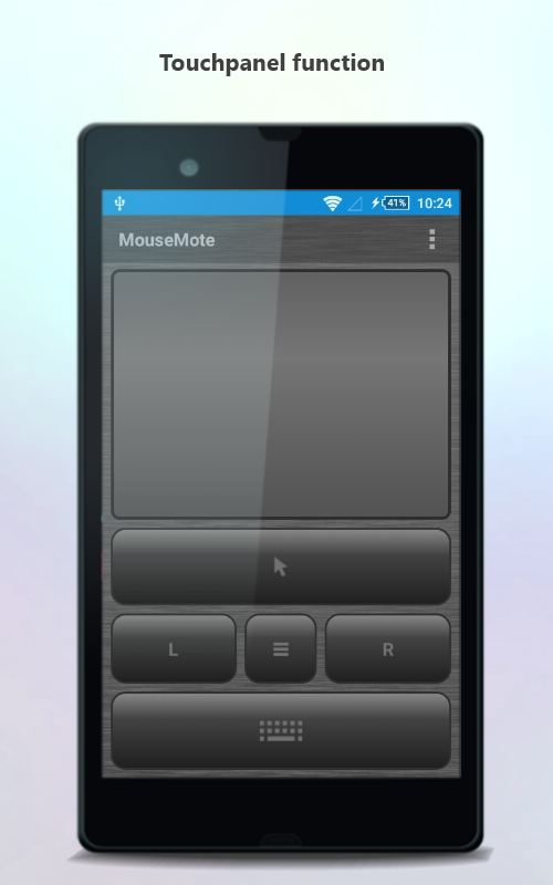 MouseMote AirRemote- screenshot