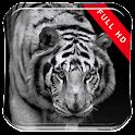 Black&White LikeTiger LWP icon