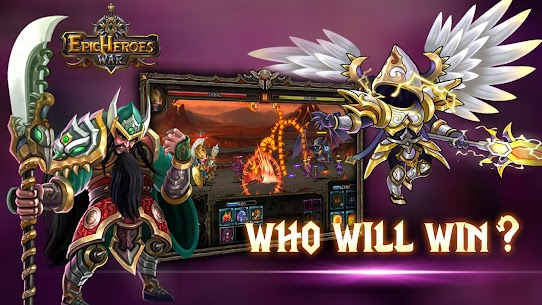 Epic Heroes War 1.11.3.428dex Apk + Mod (Coins|Gold|Crystals) Android FREE 4