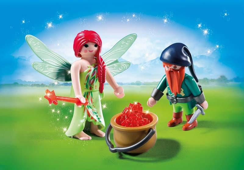 Contenido de Playmobil® 6842 Duo Pack Hada y Elfo