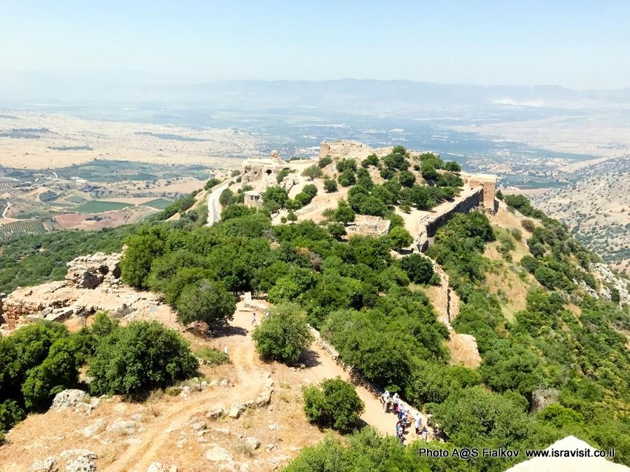 Верхняя Галилея. Крепость Нимрод.