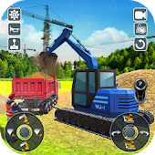 Road Construction Heavy Excavator Crane 2019 Android APK Download Free By Crafting Studio