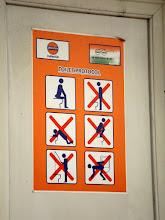 Photo: Im Gegensatz dazu gibt es eine ausführliche Anleitung für den Toilettengang