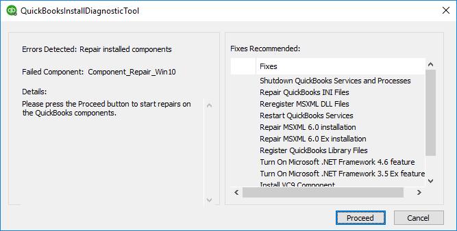 QuickBooks Install Diagnostic Tool -Screenshot