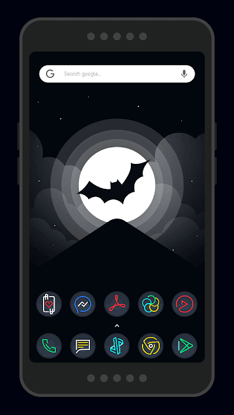 Nightmare Sphere – Dark S8 Icon Pack v2.0.8.i.a