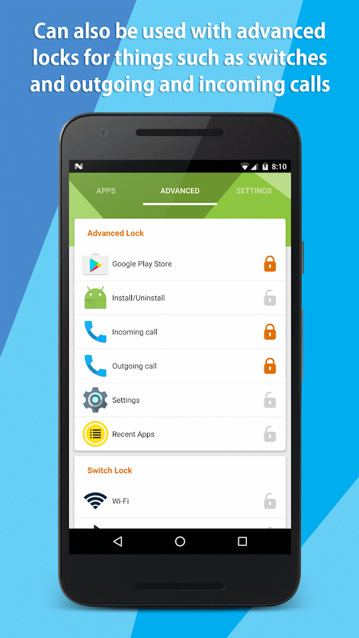 Quick App Lock Pro - protects your privacy- screenshot