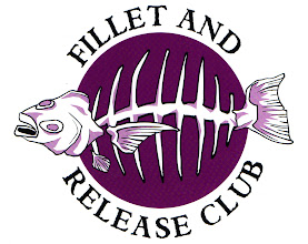 "Photo: ""Fillet & Release Club"" tshirt design"
