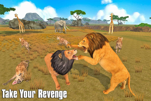 The Lion Simulator: Animal Family Game 1.0 screenshots 9