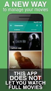 Cinemaniac - Movies To Watch - náhled