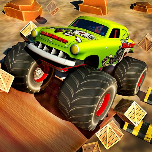 Extreme Monster Truck Racing Stunts Games