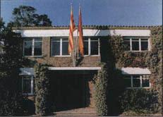 Photo: Sede central de la Real Escuela de Avicultura