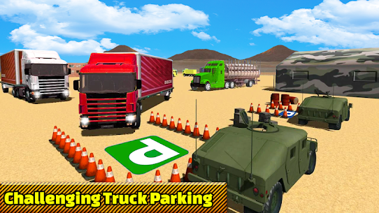 Truck Parking Adventure 3D:Impossible Driving 2018 1