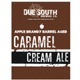 Due South Apple Brandy Barrel Caramel Cream Ale