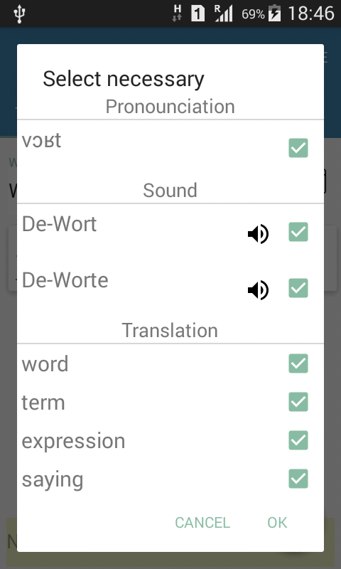 Word Dolphin: learn words- screenshot