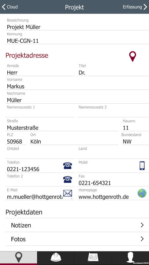 Energie App- screenshot