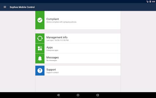 Sophos Mobile Control screenshot 9