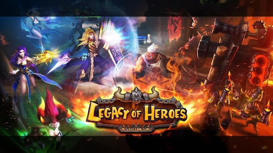 Legacy of Heroes-Crush Orcs Cho Android