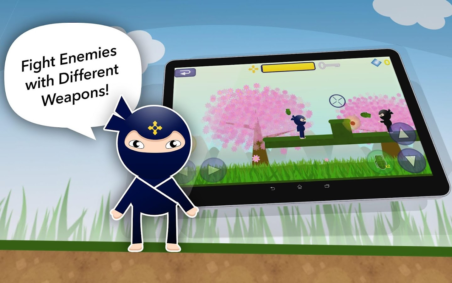 Ukemi Ninja- screenshot