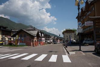Photo: Spory to ośrodek sportów narciarskich, bardzo popularny wśród turystów pieszych i rowerzystów. Takie małe miasteczko.