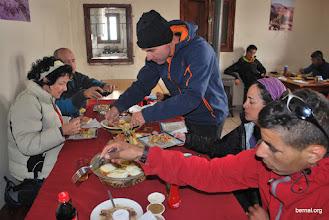 Photo: comida en el refugio