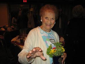 Photo: Lillian, widow of President Frank Pryatel, 1992-1993