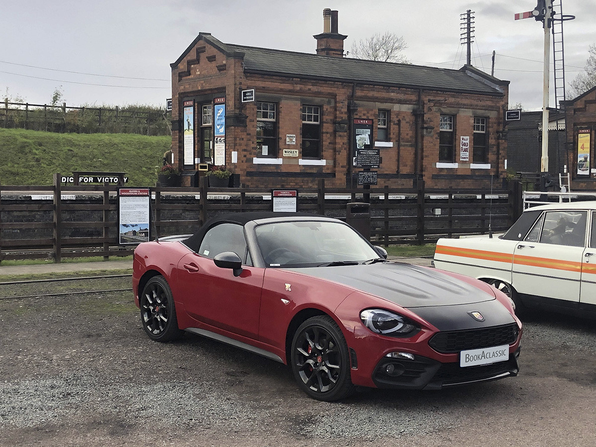 Abarth  124 Spider Hire Leicester