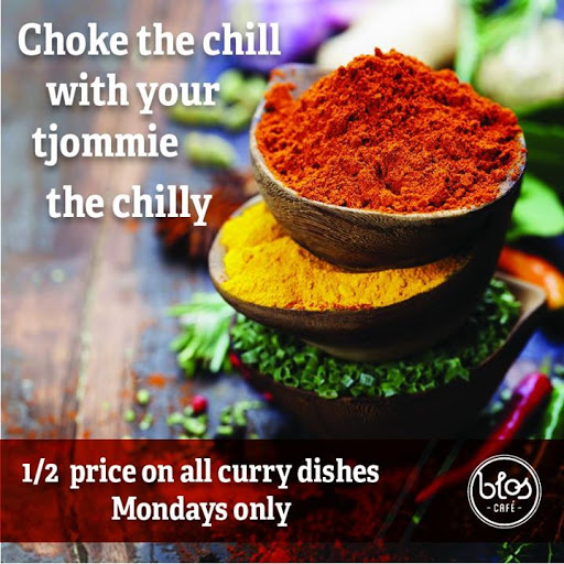 Half Price On All Curry Dishes : Blos Cafe