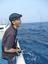 Photo: シマウチさんもヒーット!「ああっ!バレたー。」・・・その後もバラしました。「こらーっ!」