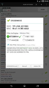 Wifi WPS Unlocker (Deutsch) Screenshot