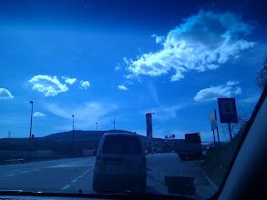 Photo: Driving to Avala mountain..