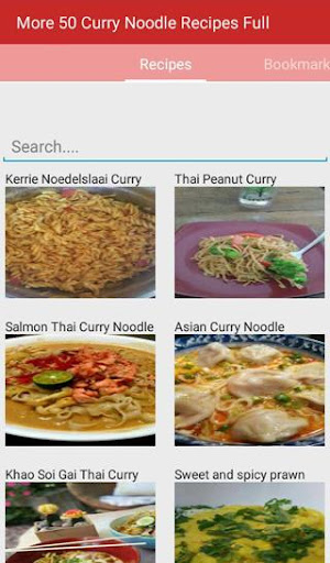 Curry Noodle Recipes Full  for PC