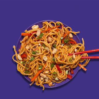 """Spicy Chicken """"Takeout"""" Noodles"""