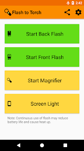Flash to Torch - A magnifier with flashlight - náhled