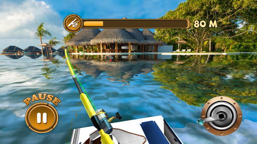 Défi de pêche en plein air APK MOD – ressources Illimitées (Astuce) screenshots hack proof 1