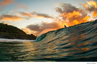 Photo: Photo of the Day: Waimea Bay, Oahu. Photo: Gordon #Surfer #SurferPhotos