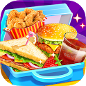 School Lunch Food Maker 2: Free Cooking Games icon