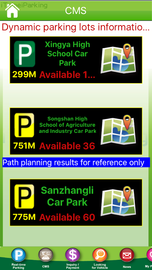 iTaipei Parking- screenshot