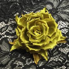 Photo: цветок из ткани